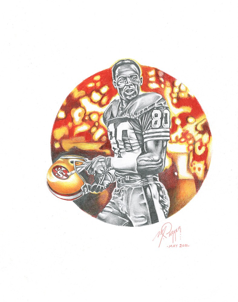 THE BEST EVER (JERRY RICE) by Marty  Parker