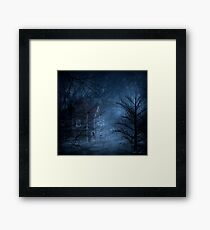 Haunted Place Framed Print