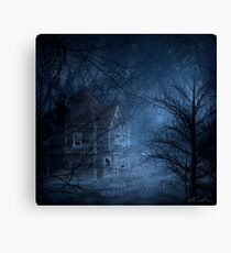 Haunted Place Canvas Print