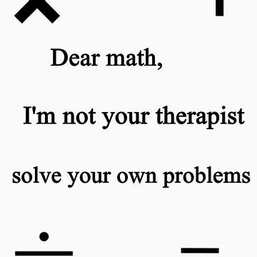 Dear math by inathan44