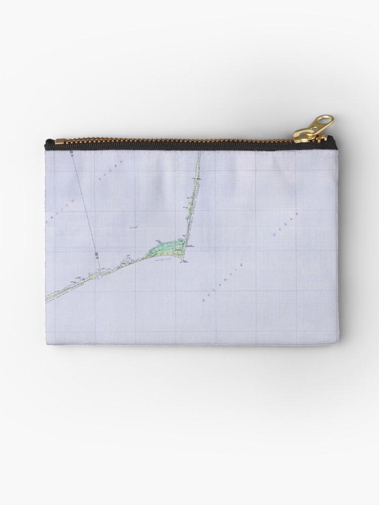 Historical Cape Hatteras North Carolina Map by parmarmedia
