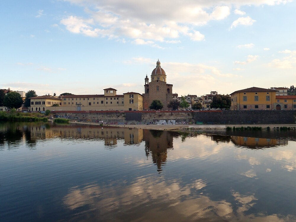 Fiume Arno 2.0 - Florence  by clarebearhh