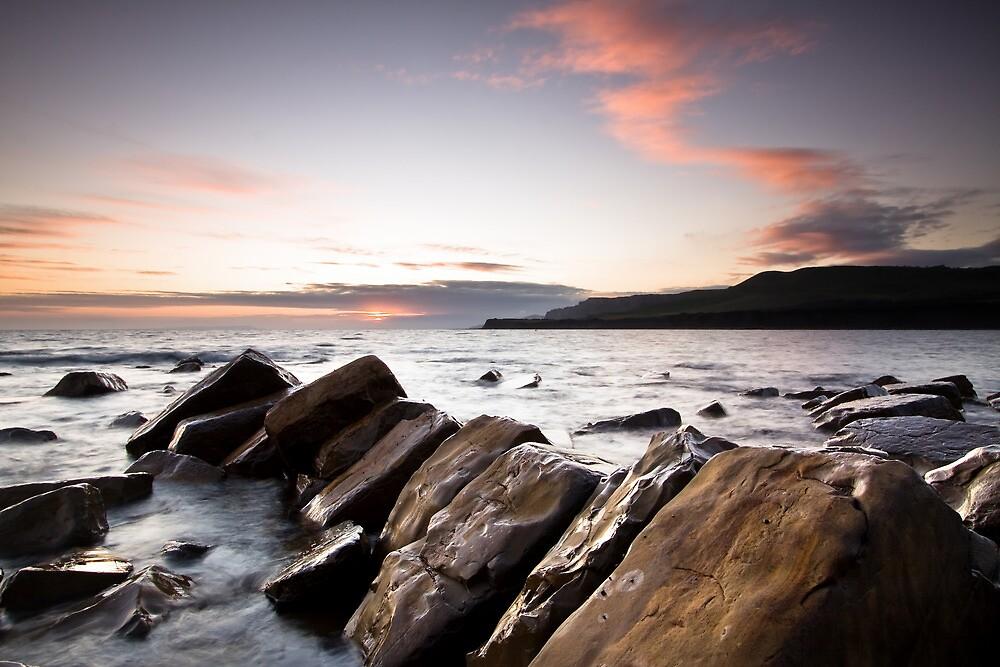 kimmeridge Sunset by igotmeacanon