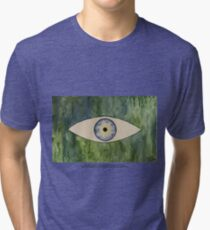 Sea Monster Eye   (t-shirt) Tri-blend T-Shirt