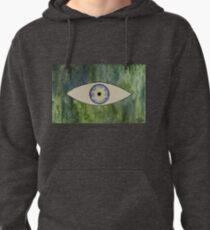 Sea Monster Eye   (t-shirt) Pullover Hoodie