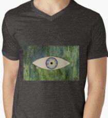 Sea Monster Eye   (t-shirt) Men's V-Neck T-Shirt