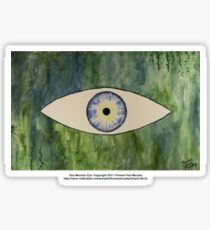 Sea Monster Eye   (t-shirt) Sticker