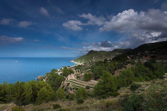 Banyalbufar Mallorca by Leighton Collins
