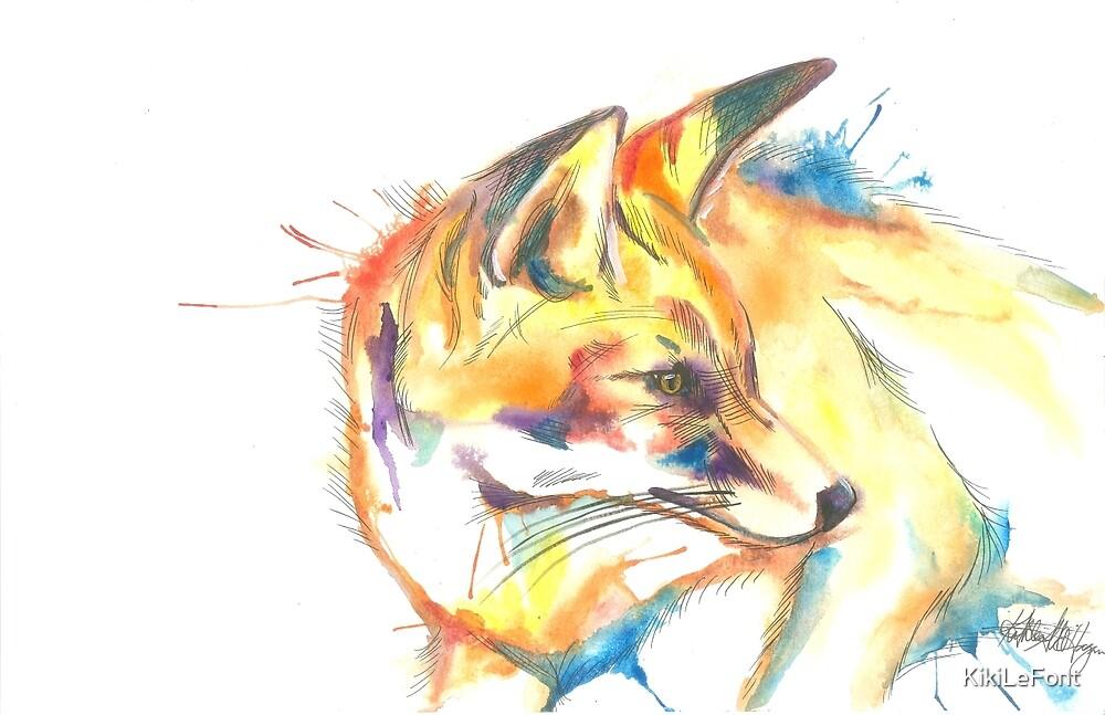 Fox by KikiLeFont