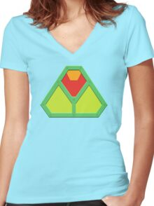 LEX ARMOR Women's Fitted V-Neck T-Shirt