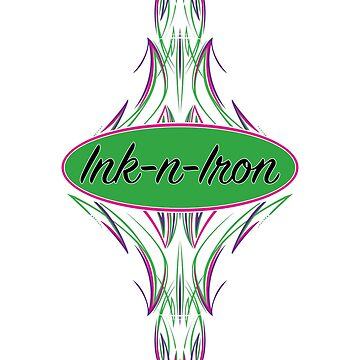 Ink-n-Iron Pin Stripe by AudraJS