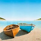 Two Boats on the Beach by horacio10