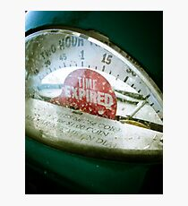 Retro Parking Meter 02 Photographic Print