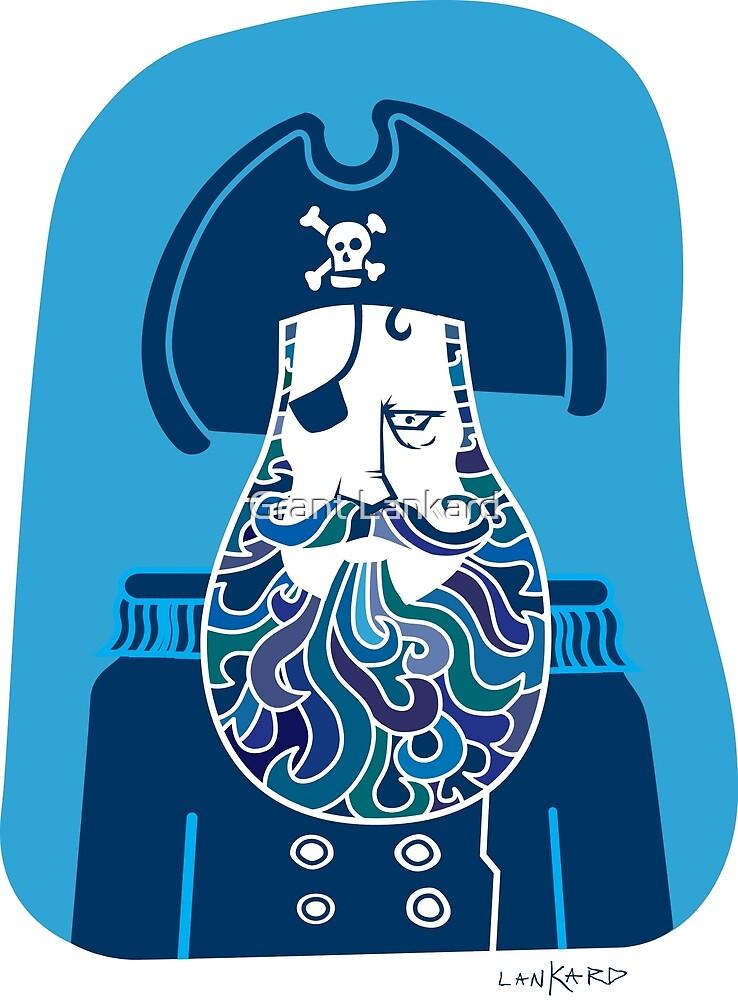 Captain Blue Beard by Grant Lankard
