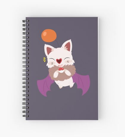 Swoobat x Moogle Spiral Notebook