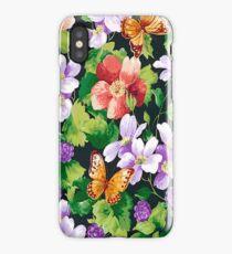 Flowers Butterflies  iPhone 4 & 4s Case iPhone Case