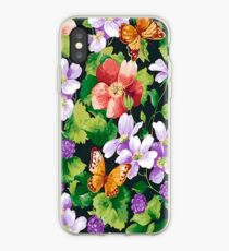 Flowers Butterflies  iPhone 4 & 4s Case iPhone Case