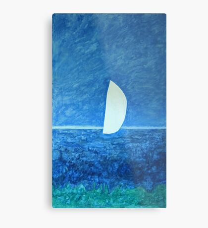 Ghost Sail Metal Print
