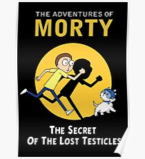 The Secret of the Lost Testicles Poster