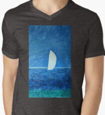 Ghost Sail  Mens V-Neck T-Shirt
