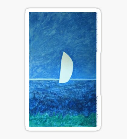 Ghost Sail  Sticker