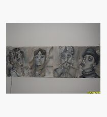 acryl op hout Photographic Print