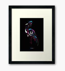 Blueheron Framed Print