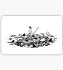 Troubled Waters Sticker