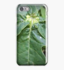 nature's shadow on phone iPhone Case/Skin