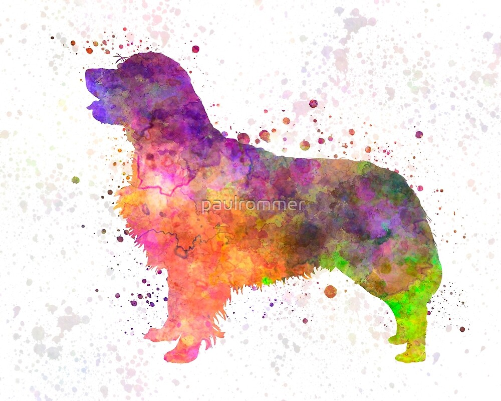 Golden Retriever 01 in watercolor by paulrommer