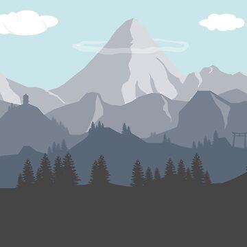 Flat Landscape by seingalad