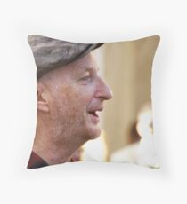 Occupy LSX ~ Billy Bragg Throw Pillow