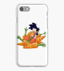 Goku and his vegetables iPhone Case/Skin
