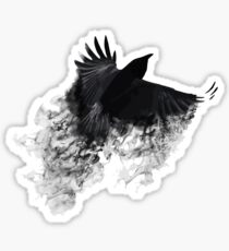 The Black Crow Sticker