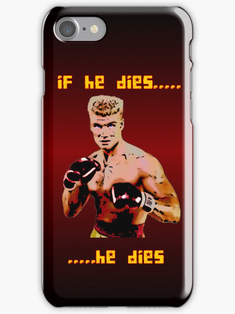 Ivan Drago iPhone 4/4S case by Vagelis Georgariou