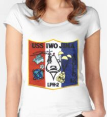 LPH-2 Recovery of Apollo 13 Patch Women's Fitted Scoop T-Shirt