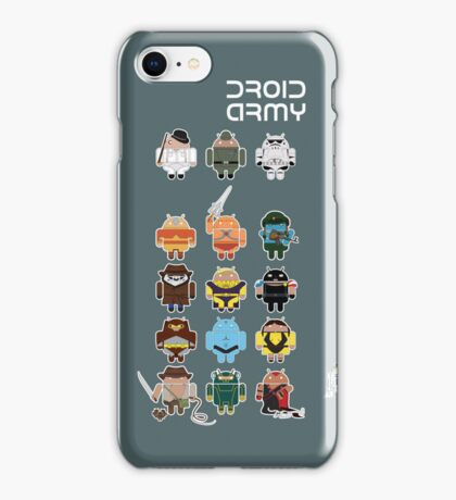DroidArmy: Maclac Squadron (ironic iPhone case) iPhone Case/Skin