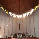 Nuestra Señora de Loreto church Interior by Fay  Hughes