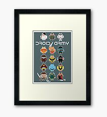 DroidArmy: Maclac Squadron (on your wall!) Framed Print