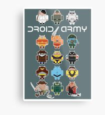 DroidArmy: Maclac Squadron (on your wall!) Metal Print