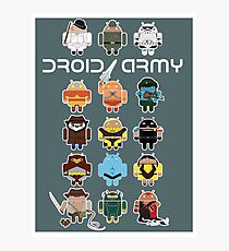DroidArmy: Maclac Squadron (on your wall!) Photographic Print