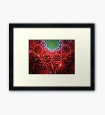 Molecules Framed Print