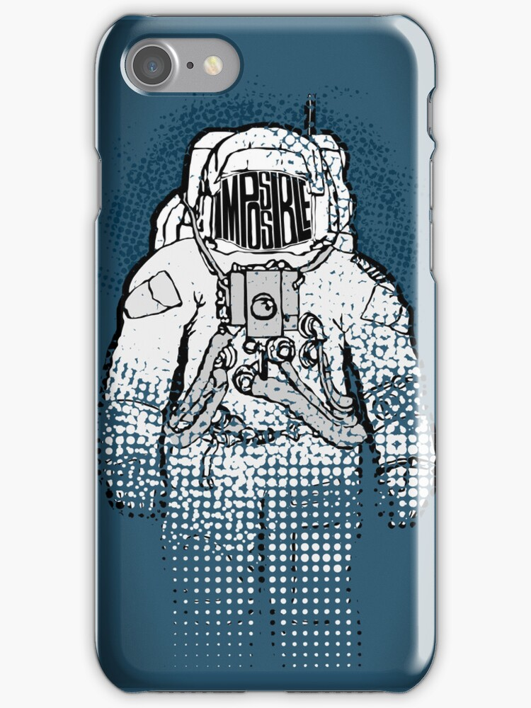 Impossible Spaceman - iPhone Case by D4N13L