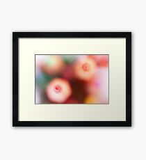 Another sunny day and again hesitating friends...  Framed Print
