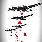 Love, not war - iPhone Case by D4N13L