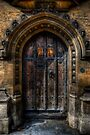 Old College Door by Yhun Suarez