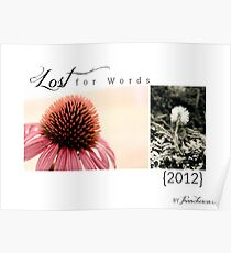 2012 Lost For Words Calendar Cover Poster