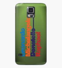 Leonardo, Michelangelo, Donatello, Raphael - iPhone case Case/Skin for Samsung Galaxy