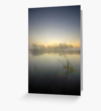Misty Dawn 4.1 Greeting Card