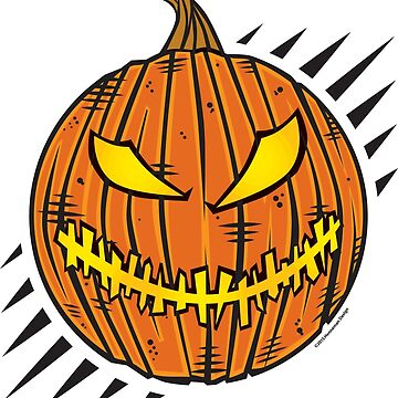Jack-O-Lantern Stitch Mouth by hennemandesign